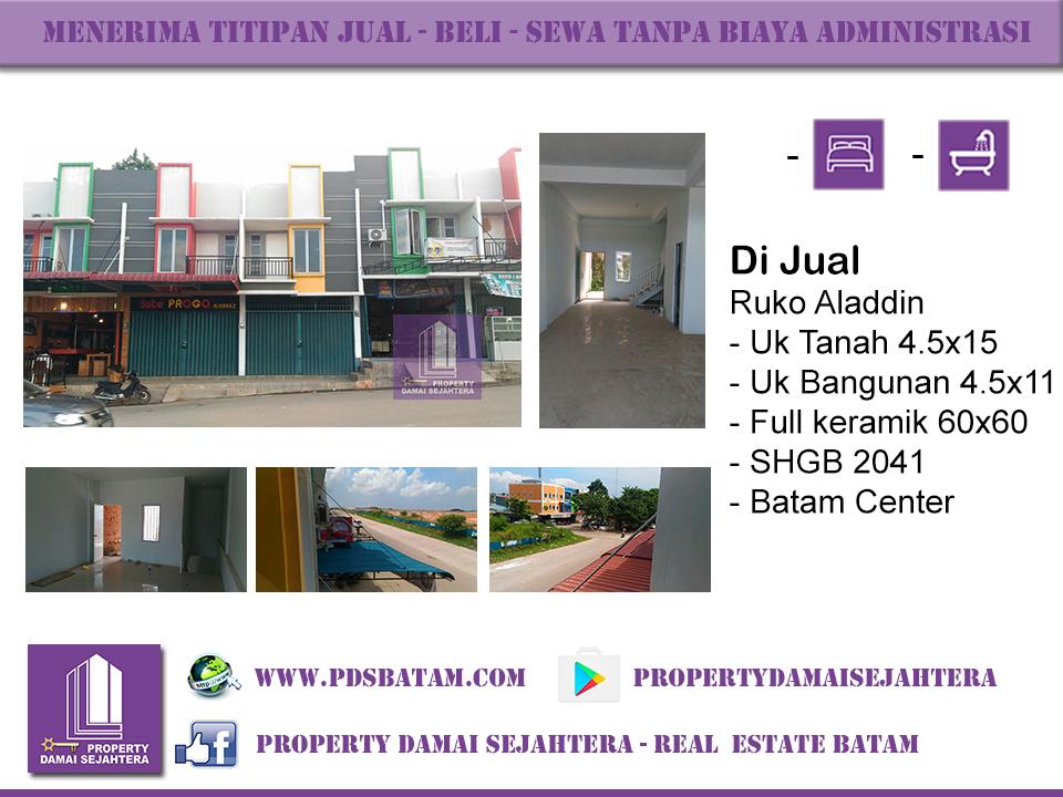 Ruko Aladdin Batam Centre