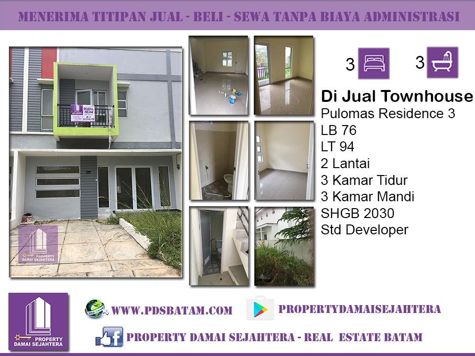 Townhouse Pulomas Residence 3