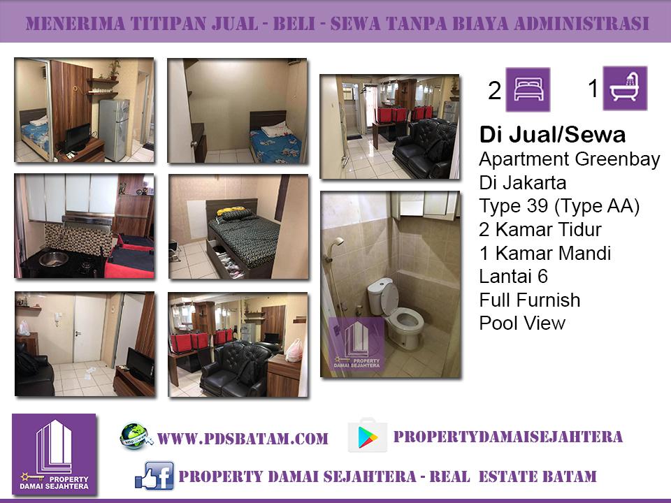 Apartment Greenbay Di Jakarta